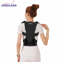 JORZILANO Posture Corrector Orthopedic Shoulder Pain Lumbar Corset Back Brace Belt Straps Adjustment Therapy Posture Correction