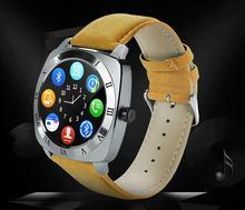 Bluetooth Smart Watch Phone Mit Kamera SIM Musik-player Recorder Schrittzähler Uhr Voll Runde Touchscreen Smartwatch Für Android