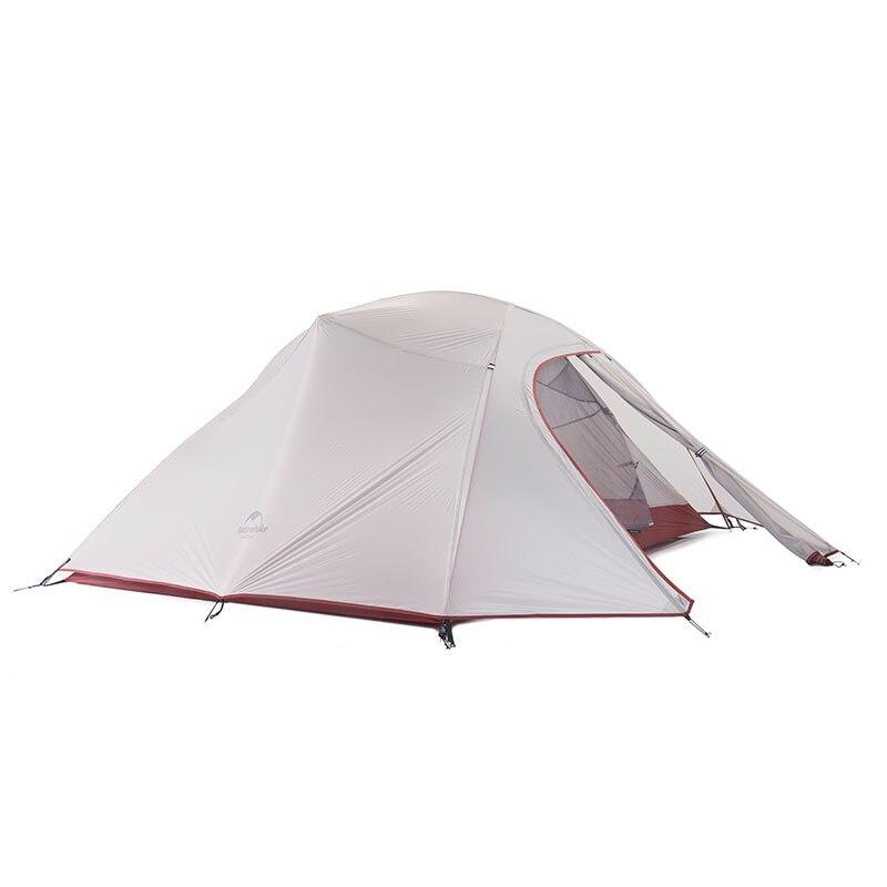 Naturehike CloudUp Série Ultra-Léger tente de camping En Plein Air tente de randonnée tente familiale Pour 3 Personne NH15T003-T