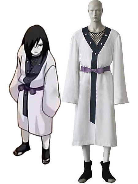 Naruto Young Orochimaru Uniform Cosplay Costume Tailor Made