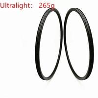 DAIRS 265g Ultralight XC 27*25mm hookless 650b carbon disc mtb rims tubeless 27.5er Mountain bike clincher mtb bike|Rims| |  -