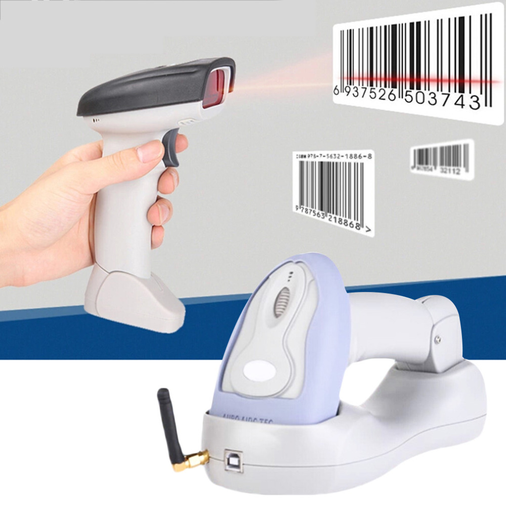 ФОТО Hot Cradle Wireless Barcode Scanner BlueTooth + USB Cable Wholesale