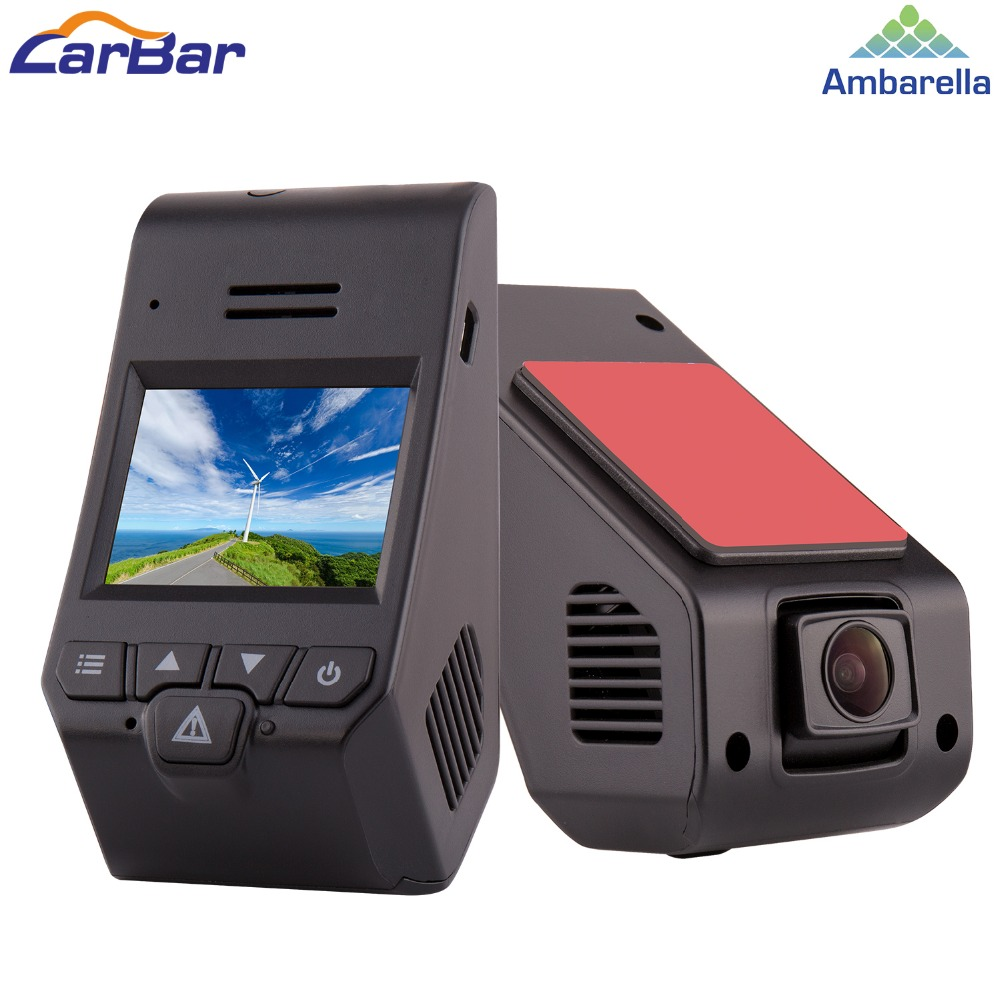 Carbar Ambarella A12 2 Wifi 1080P HD Car DVR DVRS Video Recorder Camera Dash Cam Black Box 30fps ADAS MIC WDR HDR G Sensor GPS