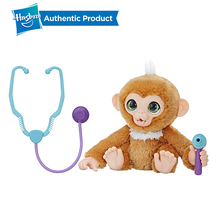 Hasbro Furreal Check-up Zandi Sweet Little Monkey Plush Stuffed Toy Can Make A Sound Child Birthday Christmas Present