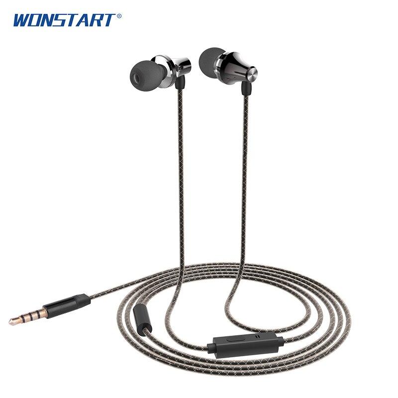 ΞWonstart IE02 hi-fi Auriculares auriculares con cable auriculares ...
