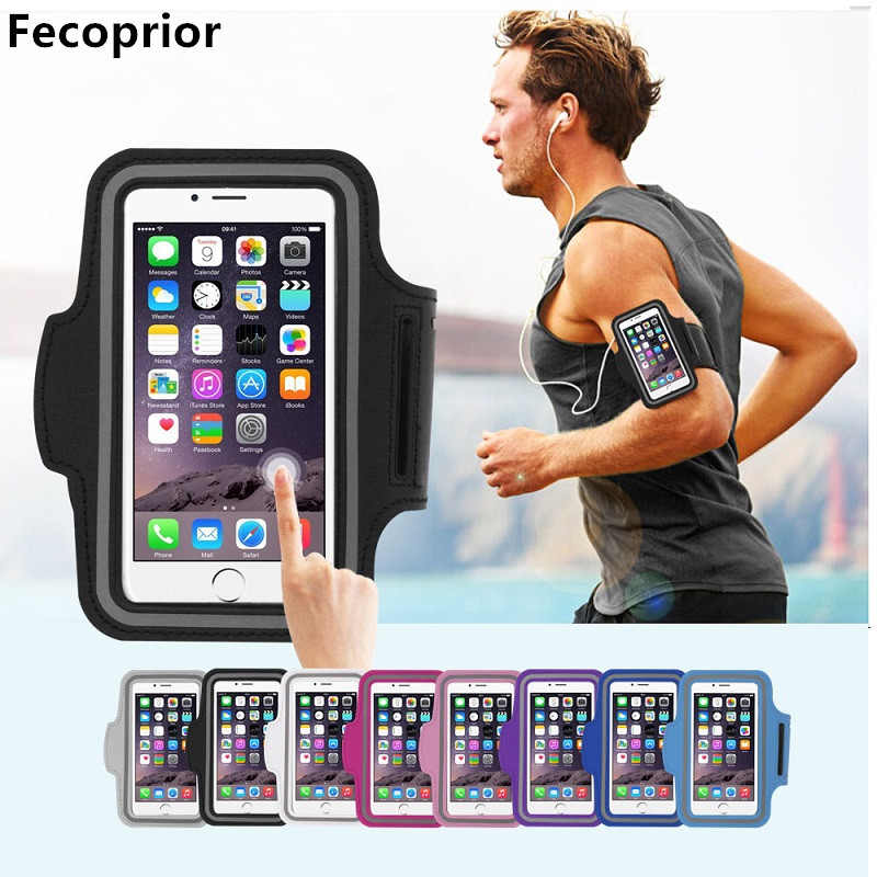 Fecoprior Armband for Samsung Galaxy J1 Mini Prime Ace iPhone SE 5 5S 4.0 4.3inch Sports Case