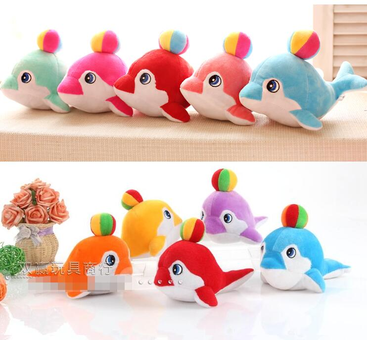 Candice guo plush toy stuffed doll aquarium sea park cartoon animal Dolphin play ball birthday gift chrismas present 3pcs/lot stuffed animal 120cm simulation giraffe plush toy doll high quality gift present w1161