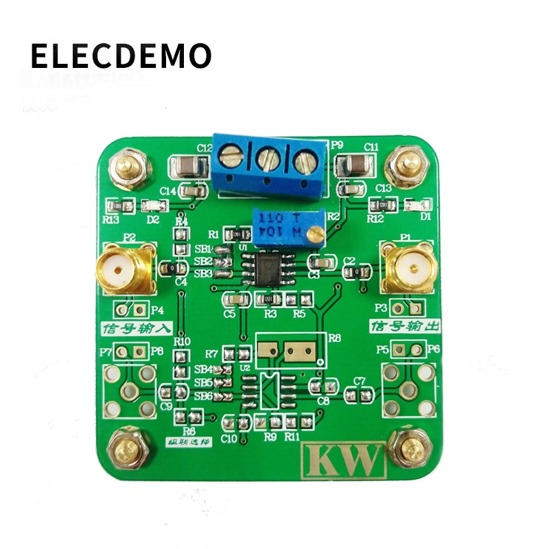Image 3 - THS3121 Low Noise Amplifier High Output Current High Slew Rate Positive and negative5V~15V Wide Supply Voltage-in Demo Board Accessories from Computer & Office