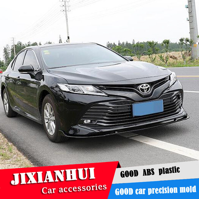 For Camry Body Kit Spoiler 2018 2019 For Toyota Camry Abs Rear Lip
