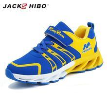 JACKSHIBO Kid Sneakers Children Shoes Casual Toddler Boy Comfortable Childrens Kids Boys