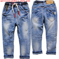 3926 4-7 hole boys jeans kids jeans  casual  pants boy pants  casual pants  boy  trousers spring  autumn  fashion children's new