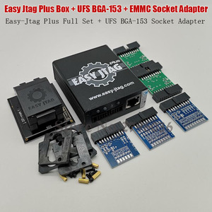 Image 3 - 2020 oryginalny Easy Jtag Plus gniazdo EMMC + easy jtag Plus UFS BGA 153 Adapter gniazda