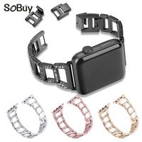 So Buy Alloy Stainless Steel Strap For Apple Watch Band 42mm Strap 38mm Link Bracelet Wirstband