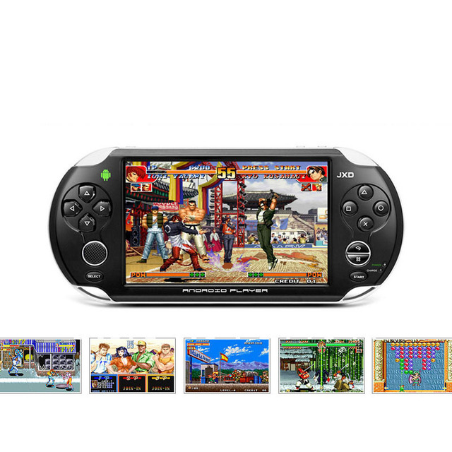 "JXD S5110 5"" Capacitive 3-point LCD Touch Screen Android4.0 Tablet PC Game Console 512MB/4GB WiFi"