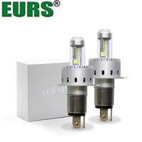 EURS 2PCS 7S LED Bulbs H1 H4 H7 H8 H11 9005 9012 Car Headlights Motoecycle LED