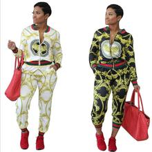 Summer Traditional African Clothing 2 Piece Set font b Women b font Africaine Print Dashiki font