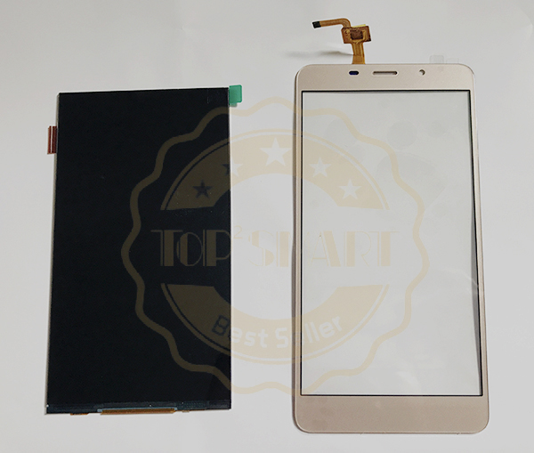 Special For Leagoo M8 M8 Pro LCD Display and touch Screen panel glass Mobile Phone Parts For Leagoo M8 phone parts ...