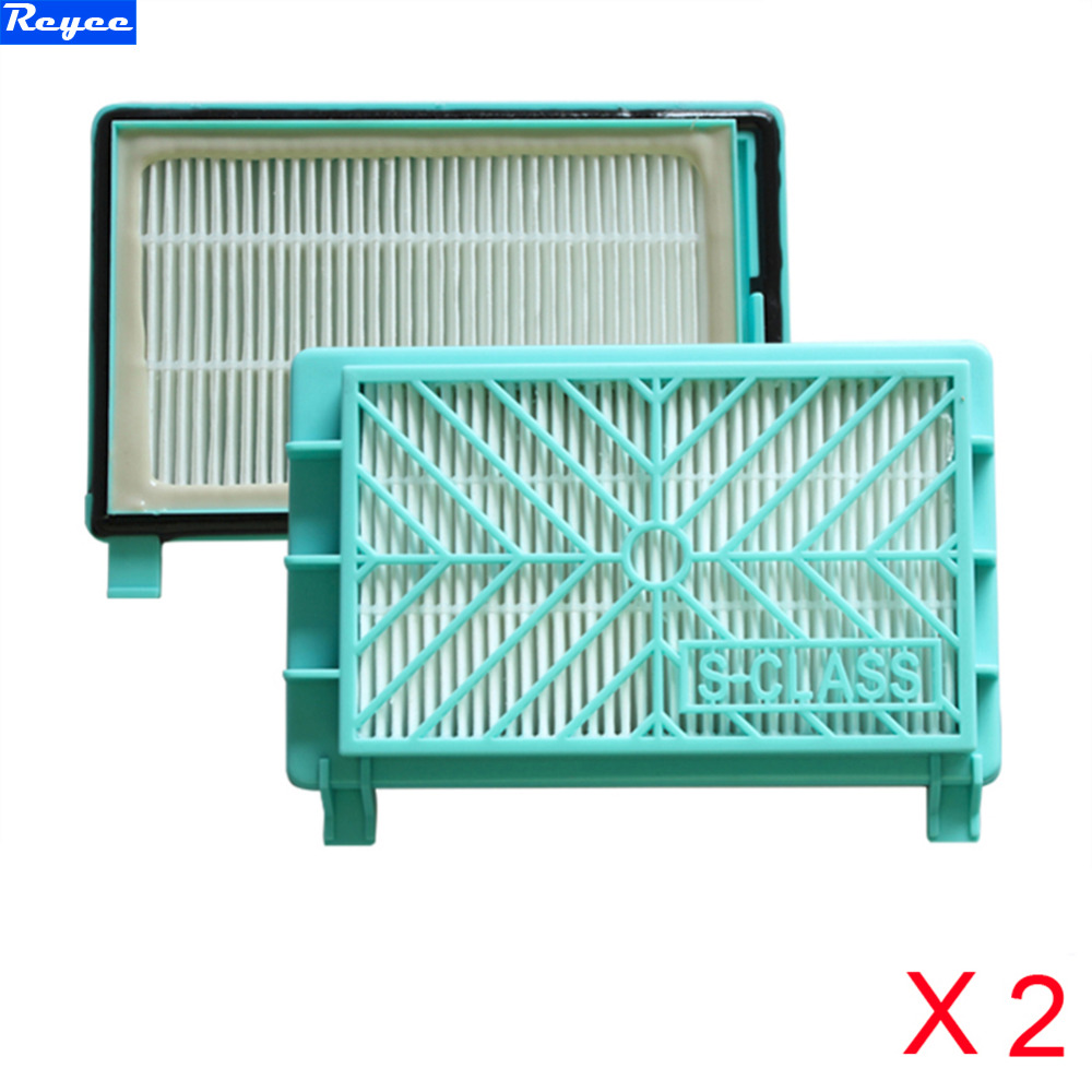 New 2 pcs Vacuum Cleaner Hepa Filter Hepa 13 Replacement for Philips FC8613 FC8614 FC8716 FC8732 FC8720 FC8919 Free Shipping 2pcs vacuum cleaner parts replacement filter screen for philips robot fc8820 fc8810 hepa filter free shipping