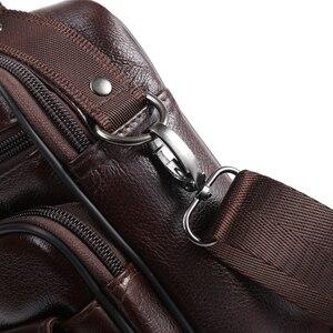 Image 5 - ZZNICK сумка из натуральной кожи мужские сумки с верхними ручками мужские сумки через плечо сумки мессенджеры маленькие повседневные сумки с клапаном мужская кожаная сумка