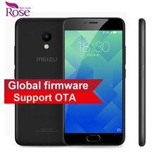 """Original Meizu M5 MTK MT6750 Octa Core 2GB RAM 16GB ROM Mobile Phone 5.2"""" 4G LTE 2.5D Glass 1280*720 13MP Fingerprint ID 3070mA"""