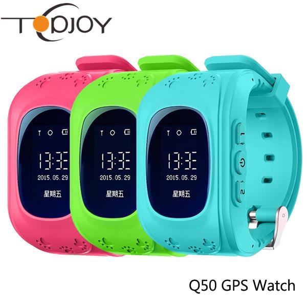 Q50 GPS Smart Watch Kid Safe Smart Watch Wristwatch SOS Call Location Finder Locator Tracker for Child Kid Anti Lost Monitor