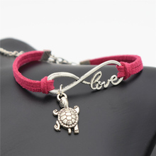 Unique Turtle Love Bracelet / 10 Colors
