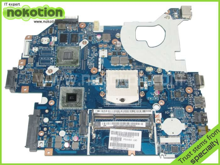 NOKOTION MB.RCS02.004 Laptop Motherboard FOR Acer 5750 5750G Series P5WE0 LA-6901P MBRCS02004 GT520M Mother Board Free Shipping nokotion laptop motherboard for acer aspire 5750 5750g mbrcg02006 p5we0 la 6901p mb rcg02 006 gt540m ddr3 mainboard