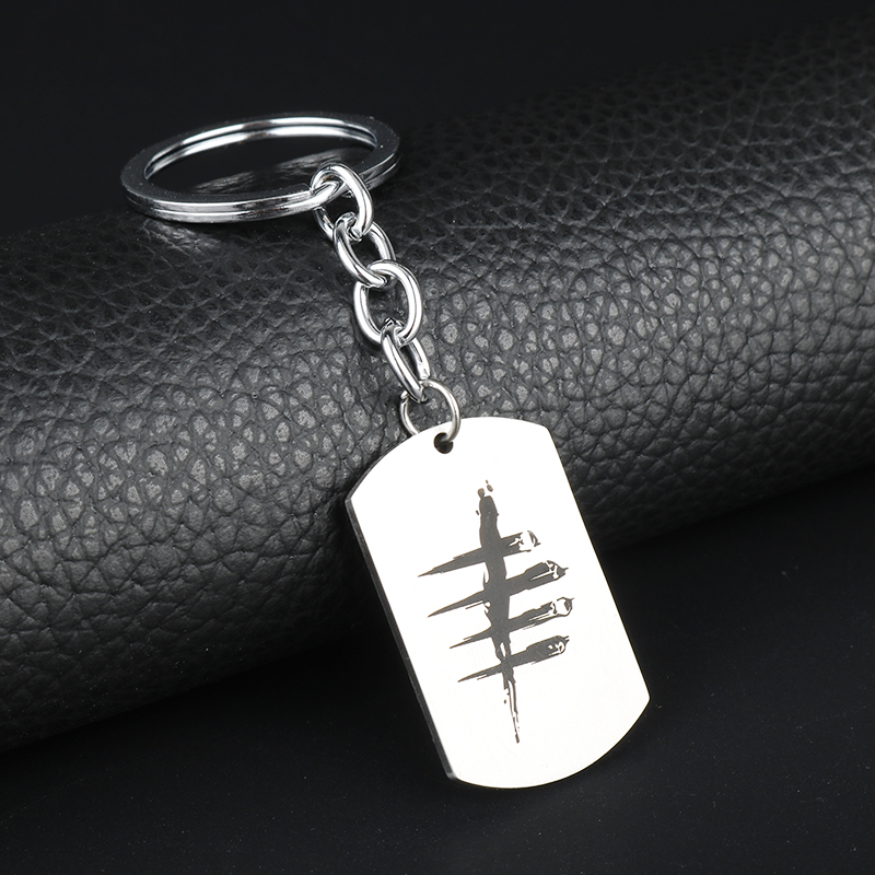 New Design Game Jewelry Dead by Daylight Keychain Dog Tag Pendants Keyrings&Key Chain chaveiro