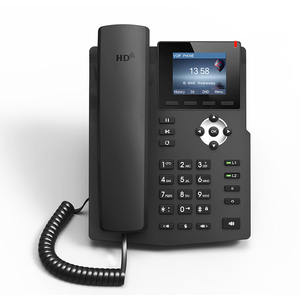Image 4 - SIP telephone multimedia video sip phone call center telephone new design desk corded VoIP phone