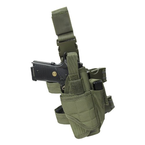 Universal Holster Molle Gun Outdoor Tactical Leg Holster Pistol/Gun Drop Leg Thigh Holster RL31-0009