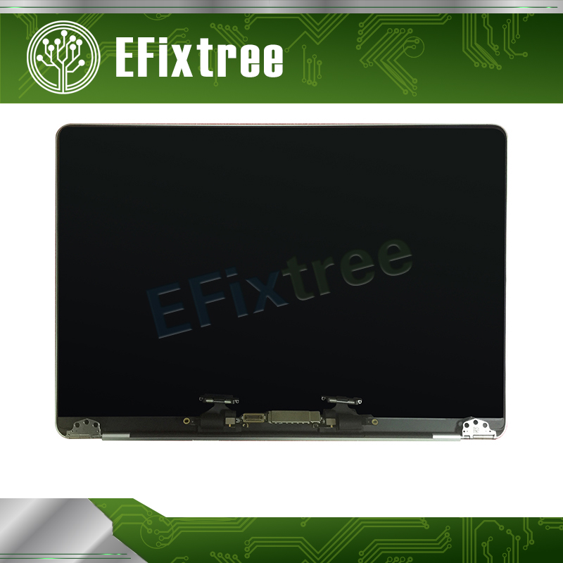 Grey Gray Silver For Macbook Pro Retina 13.3 A1706 A1708 LCD Display Screen Panel Assembly 2016 2017 EMC 3163 EMC 3071