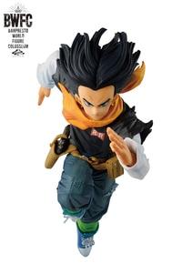 """Image 3 - 100% originale Banpresto FIGURA DEL MONDO COLOSSEO Tenkaichi Budoukai BWFC 2 vol.3 Collezione Figura Android No.17 """"Dragon Ball Z"""""""