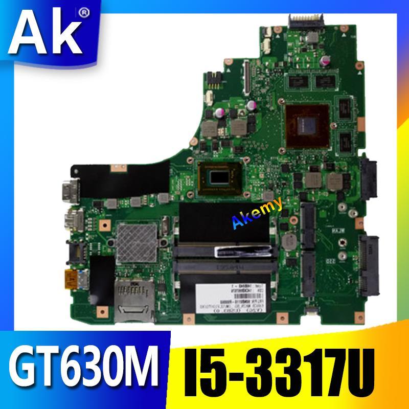 AK K46CM Laptop Motherboard For ASUS A46C S46C K46CB K46CM K46C K46 Test Original Mainboard I5-3317U GT630M