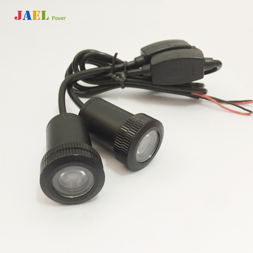 2PCs LED Car door welcome light courtesy led car laser projector Logo Ghost Shadow Light Case For Abarth light