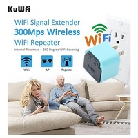 300Mbps Wireless Repeater 2 4Ghz WI FI AP Router 802 11N Signal Amplifier Wifi Range Extender