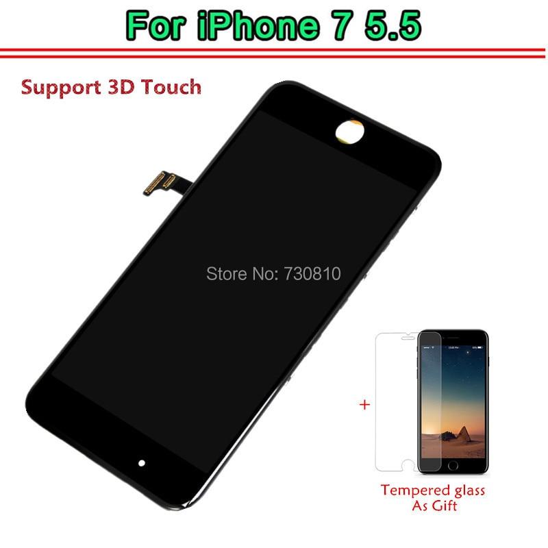imágenes para Tianma AAA Calidad No Pixel Muerto Reemplazo 5.5 LCD Para el iphone 7 Más Pantalla LCD Con Pantalla Táctil Digitalizador Asamblea