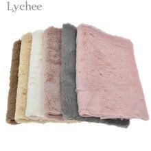 Lychee Life A4, мягкая ткань из искусственного меха, Высококачественная Водонепроницаемая синтетическая кожа, материал для шитья «сделай сам» дл...