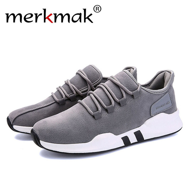 Merkmak Brand Spring Autumn Canvas Leisure Men Shoes for Outdoor Fashion Comfortable Breathable Sneaker Man Flats Footwear Shoes