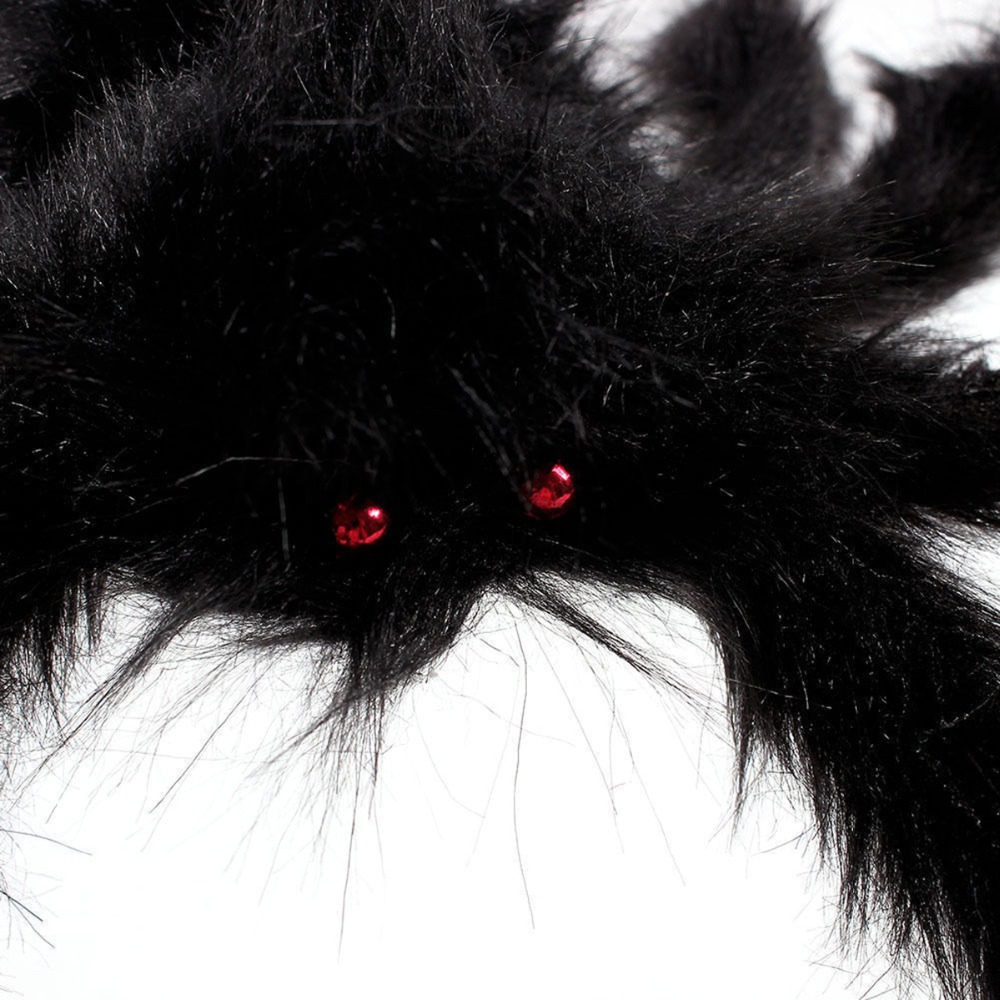 Super Big Plush Spider Halloween Prop 4