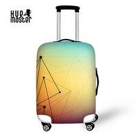 Verdickt Gepäck Schutzabdeckung für 18-30 Zoll Geometrische Trolleys Elastische Stoff Koffer Tasche Staub Regen Fall Abdeckungen