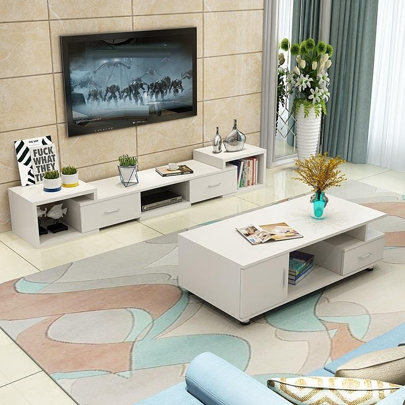modern led unit entertainment center meuble moderne meja european wood monitor mueble table living room furniture tv stand