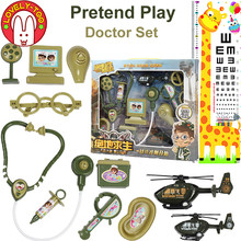 Girls Games Kids Doctor Set Hospital Pretend Play Dentist Toys Role-playing Games Medical Kit Dr. Toys For Children(China)