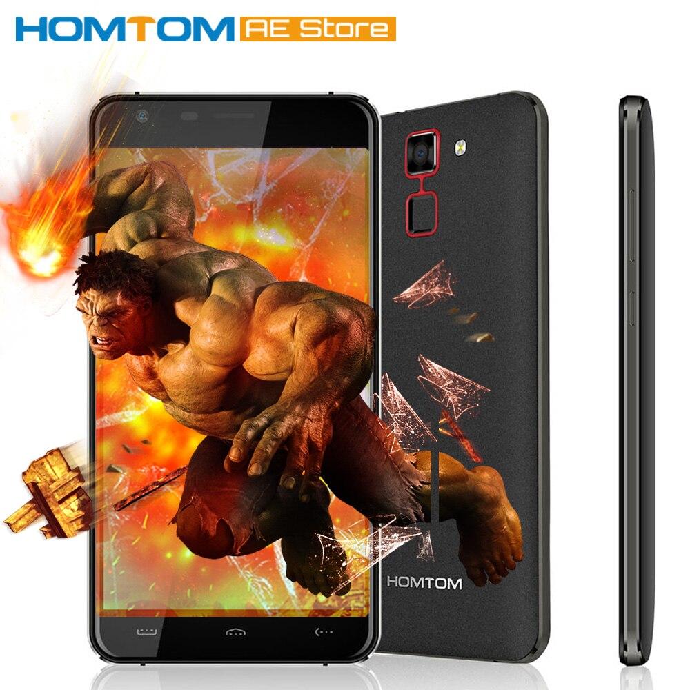 """Цена за Оригинал homtom ht30 смартфон 3 г mtk6580 quad core 5.5 """"1280*720 android 6.0 1 ГБ + 8 ГБ dual фотоаппараты 3000 мАч мобильного телефона"""