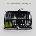 13 in 1 Pro Medical Skin Suture Practice Manipulation Practice Technique Training Modules Kit