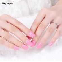 Lily angel 90Colors 15ml Soak-off Lacquer Manicure Nail Gel Polish UV LED Gel Polish Varnish Nail Art Semi Permane 63-90