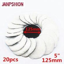 Janpshion almofada de polimento de carro, almofada de polimento de 5