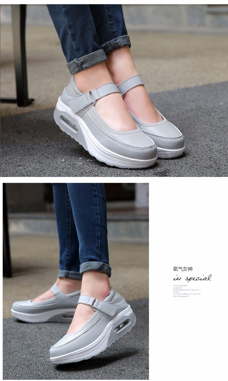 Mary Janes Style Women Casual Shoes Fashion Low Top Platform Shoes zapatillas deportivas mujer Breathable Women Trainers YD129 (15)