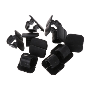 Car-styling 10 Pcs Hood Insulation Plastic Retainer Bonnet Holder Pad Clip For Volkswagen 1H5863849A01C dropshipping