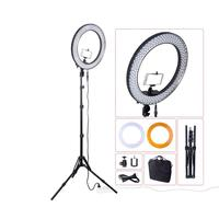 18 Inch 240 LED Ring Light Lamp Set Dimmable Camera Photo Studio Phone Video Photography Lighting