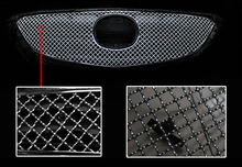 Front Grille Grill Bezel Honeycomb Mesh Cover For Mazda 6 M6 Atenza 2013 2014 2015